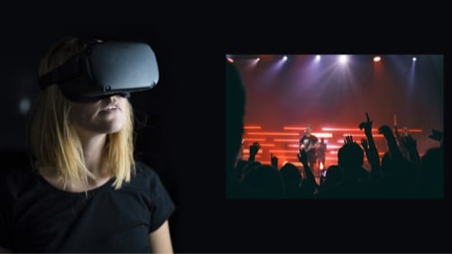 virtual reality broadcast example